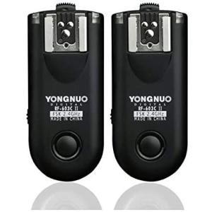 YONGNUO製 RF603CII-C3 第二世代 ワイヤレス・ラジオスレーブ 無線レリーズ キャノ...