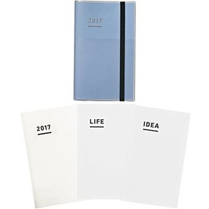 コクヨ ジブン手帳 2017 ファーストキット 11月始まり A5スリム ブルー ニ-JF1B-17