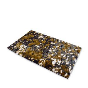 アビス&ハビデコール Abyss&Habidecor 玄関マット 約60x100cm BOHO ボーホー 高級 上質 ラグマット バスマット ラメ おしゃれ ゴールド|glv