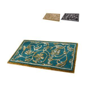 アビス&ハビデコール Abyss&Habidecor 玄関マット 60×100cm 高級 上質な肌触り ラメ糸 Dynasty(ダイナスティ) ラグマット 上品|glv