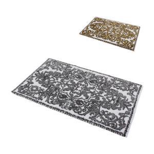 アビス&ハビデコール Abyss&Habidecor 玄関マット 60×100cm 高級 上質な肌触り ラメ糸 Perse(ペルシャ) ラグマット 上品 華やか|glv