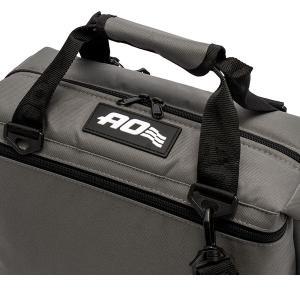 【お盆もあすつく】エーオー クーラーズ AO Coolers クーラーバッグ 12パックキャンバス ソフトクーラー AO12CH 約11L glv 07