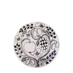 Arabia アラビアブラックパラティッシ64 1180006671-6 フラットプレート(皿) 21cm|glv