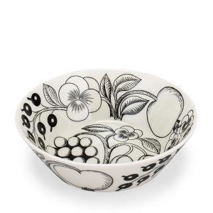 【5%還元】【あすつく】Arabia アラビアブラックパラティッシ64 1180006672-3 ディーププレート(皿 17cm スープボウル|glv