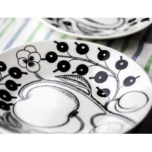 【全品あすつく】Arabia アラビアブラックパラティッシ64 1180006678-5 ソーサー(皿 16.5cm 165mm Saucer|glv|03