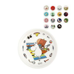 売り尽くしア アラビア Arabia ムーミン プレート 19cm 食器 皿 陶磁器 北欧 トーベ・ヤンソン フィンランド|glv