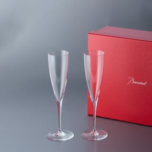 バカラ Baccarat バカラ ドンペリニヨン フルート シャンパングラス 2個セット 18452...
