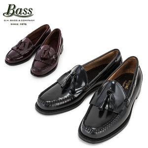 バス G.H.BASS G.H. LAYTON レイトン ブラック バーガンティ ローファー 革靴|glv