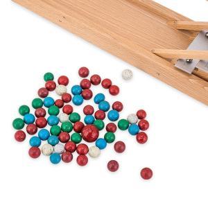 【お盆もあすつく】売り尽くし ベック社 BECKシロフォン付 玉の塔 マーブルローラーコースター 20009 木のおもちゃ 積み木 おもちゃ|glv|11