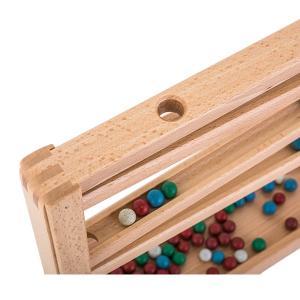 【お盆もあすつく】売り尽くし ベック社 BECKシロフォン付 玉の塔 マーブルローラーコースター 20009 木のおもちゃ 積み木 おもちゃ|glv|07
