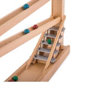 【お盆もあすつく】売り尽くし ベック社 BECKシロフォン付 玉の塔 マーブルローラーコースター 20009 木のおもちゃ 積み木 おもちゃ|glv|09