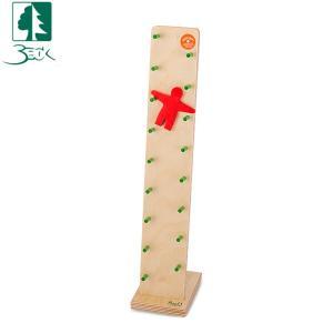 ベック社 BECKカタカタ人形 ウォブラー 20012 木のおもちゃ 積み木 おもちゃ|glv