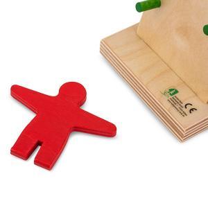 【お盆もあすつく】ベック社 BECKカタカタ人形 ウォブラー 20012 木のおもちゃ 積み木 おもちゃ glv 09