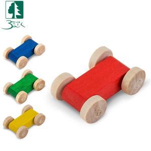 ベック社 BECKクネクネバーン用 木の車 20004 木のおもちゃ 積み木 おもちゃ|glv