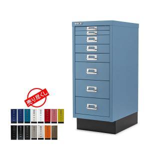 BISLEY ビスレー ベーシック 29 マルチ収納ケース 8段 185/H298BNLSPB 収納 オフィス 引き出しの写真