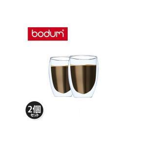 Bodum ボダム パヴィーナ ダブルウォールグラス 2個セット 0.35L Pavina 4559-10US Double Wall Thermo Cooler set of 2 クリア 北欧|glv