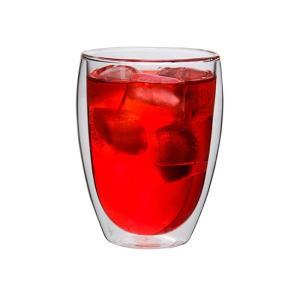 ボダム グラス ダブルウォールグラス パヴィーナ 6個セット 350mL タンブラー 保温 4559-10-12US bodum ビール glv 04