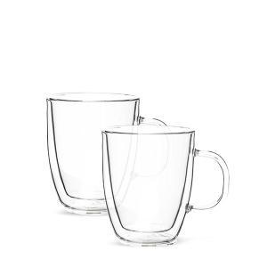 【全品あすつく】ボダム Bodum グラス 2個セット 450mL ビストロ ダブルウォールグラス 10606-10 クリア 食器 キッチン 保温|glv