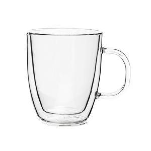 【全品あすつく】ボダム Bodum グラス 2個セット 450mL ビストロ ダブルウォールグラス 10606-10 クリア 食器 キッチン 保温|glv|02