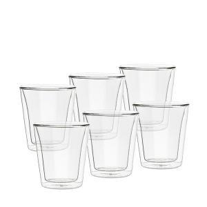 ボダム Bodum グラス キャンティーン ダブルウォールグラス 200mL 6個セット 保温 保冷 10109-10-12|glv