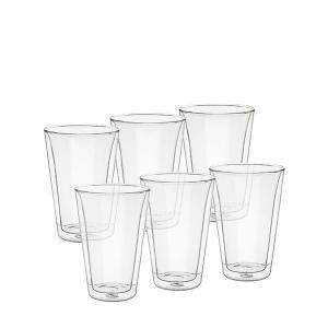 ボダム Bodum グラス キャンティーン ダブルウォールグラス 400mL 6個セット 保温 保冷 10110-10-12|glv