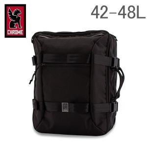 クローム Chrome リュック 2way トラベルバッグ 42-48L バックパック BG-209 All Black Macheto Travel Pack トラベルパック 旅行 出張|glv