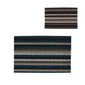 チルウィッチ Chilewich イーブン ストライプ シャグドアマット Shag Even Stripe Doormat 200S 玄関マット|glv