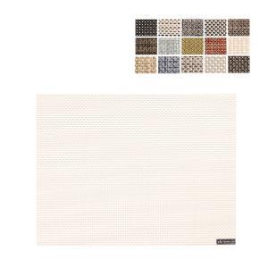 チルウィッチ Chilewich ランチョンマット 48 × 36cm バスケットウィーブ レクタングル 100110|glv