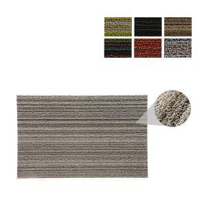 チルウィッチ Chilewich スキニー ストライプ シャグ ドアマット Shag Skinny Stripe Doormat 200S 玄関マット|glv
