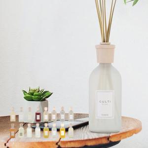 クルティ Culti ホームディフューザー スタイル 500ml ルームフレグランス Home Diffuser Stile スティック インテリア 天然香料 イタリア|glv