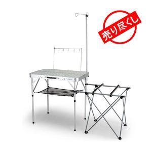 コールマン Coleman オールインワン キッチンテーブル 折りたたみ式 パックアウェイ 2000...