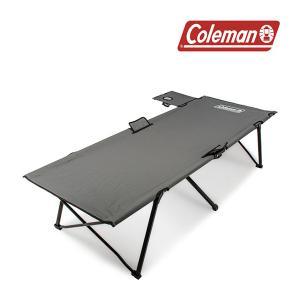 コールマン Coleman 折りたたみ式 コット サイドテーブル付き パックアウェイ コット ベンチ...