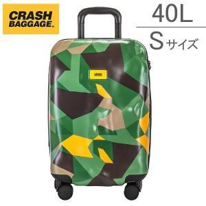 クラッシュバゲージ Crash Baggage スーツケース 40L カモ(40) 限定カラー Sサイズ 機内持ち込み CB131|glv