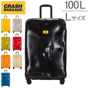 クラッシュバゲージ Crash Baggage スーツケース 100L パイオニア Lサイズ 大型 大容量 CB103 キャリーバッグ クラッシュバゲッジ|glv