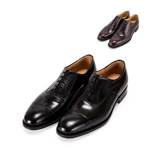 チャーチ Church's コンサル Consul 173 レザーソール ストレートチップ ブラック ( G / F ) ポリッシュド バインダー メンズ 革靴 EEB003 Polished Binder|glv
