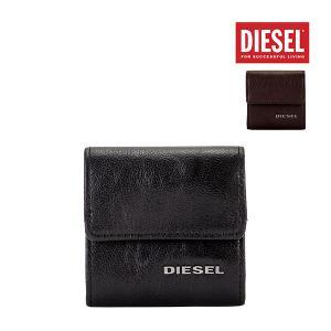 ディーゼル Diesel 小銭入れ コインケース 財布 KOPPER メンズ レザー 革 本革 X03920 PR271 ブラック ダークブラウン サイフ さいふ|glv
