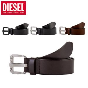 ディーゼル Diesel レザー ベルト メンズ B-STAR 牛革 X03721 PR227 オールブラック ダークブラウン ブラウン ブラック ヴィンテージ|glv