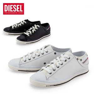 ディーゼル Diesel スニーカー メンズ レザー 本革 エクスポージャー LOW 1 Exposure Low I Y00321 PR052 靴 シューズ カジュアル ギフト|glv