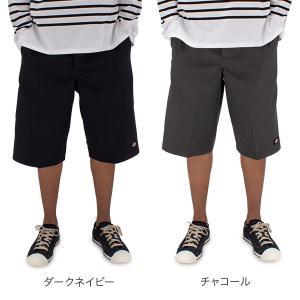 【5%還元】【あすつく】ディッキーズ Dickies ハーフパンツ メンズ ショートパンツ 42283 無地 MENS パンツ 短パン 定番 glv 03