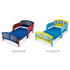 【お盆もあすつく】デルタ Delta 子供用 ベッド トドラーベッド Toddle Bed 組み立て式 幼児用 インテリア キャラクター glv 05