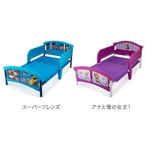 【お盆もあすつく】デルタ Delta 子供用 ベッド トドラーベッド Toddle Bed 組み立て式 幼児用 インテリア キャラクター glv 06