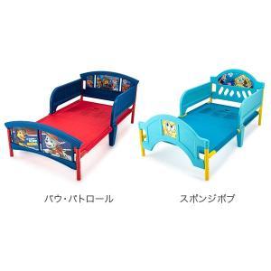 【お盆もあすつく】デルタ Delta 子供用 ベッド トドラーベッド Toddle Bed 組み立て式 幼児用 インテリア キャラクター glv 08