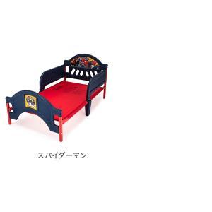 【お盆もあすつく】デルタ Delta 子供用 ベッド トドラーベッド Toddle Bed 組み立て式 幼児用 インテリア キャラクター glv 10