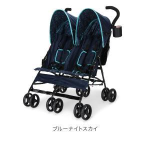 【お盆もあすつく】デルタ Delta ベビーカー シティ (ツインズ 双子) ストローラー City ST LX Side Stroller 11701 ツイン 二人乗り 軽量 折りたたみ glv 02