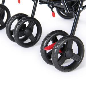 【お盆もあすつく】デルタ Delta ベビーカー シティ (ツインズ 双子) ストローラー City ST LX Side Stroller 11701 ツイン 二人乗り 軽量 折りたたみ glv 15