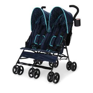 【お盆もあすつく】デルタ Delta ベビーカー シティ (ツインズ 双子) ストローラー City ST LX Side Stroller 11701 ツイン 二人乗り 軽量 折りたたみ glv 06