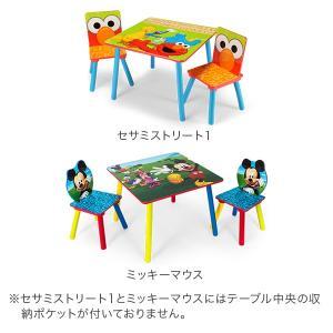 【お盆もあすつく】デルタ Delta テーブル & チェア 2脚 セット Table & Chair Set 子供部屋 キッズ 机 イス 木製 椅子|glv|02