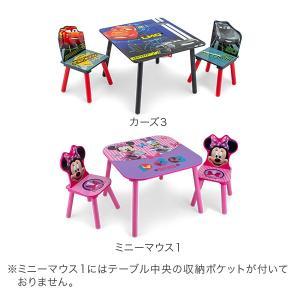 【お盆もあすつく】デルタ Delta テーブル & チェア 2脚 セット Table & Chair Set 子供部屋 キッズ 机 イス 木製 椅子|glv|03