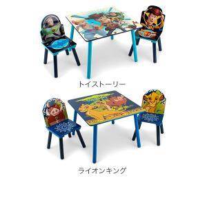 【お盆もあすつく】デルタ Delta テーブル & チェア 2脚 セット Table & Chair Set 子供部屋 キッズ 机 イス 木製 椅子|glv|05
