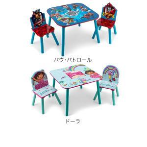 【お盆もあすつく】デルタ Delta テーブル & チェア 2脚 セット Table & Chair Set 子供部屋 キッズ 机 イス 木製 椅子|glv|06
